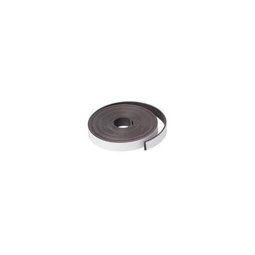 Bandă magnetică adezivă, grosime 1.50 mm, lățime 20 mm