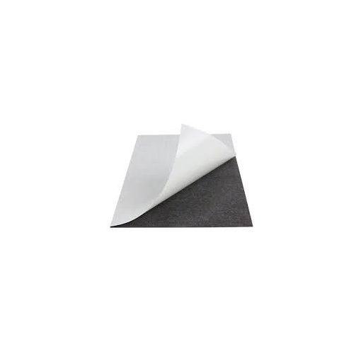Folie magnetică adezivă 14.5 cm x 9.5 cm  grosime 0.30 mm