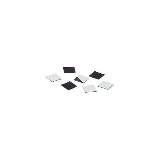 Folie magnetică cu adeziv 20x20 mm 100 bucăți grosime 0.30 mm
