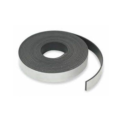 Bandă magnetică adezivă grosime 0.30 mm lățime 25 mm lungime 30 metri