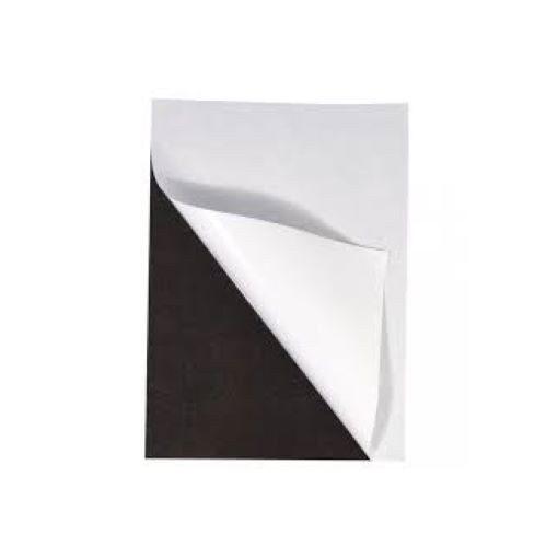 Folie magnetică adezivă, grosime 0.40 mm, lățime 615 mm