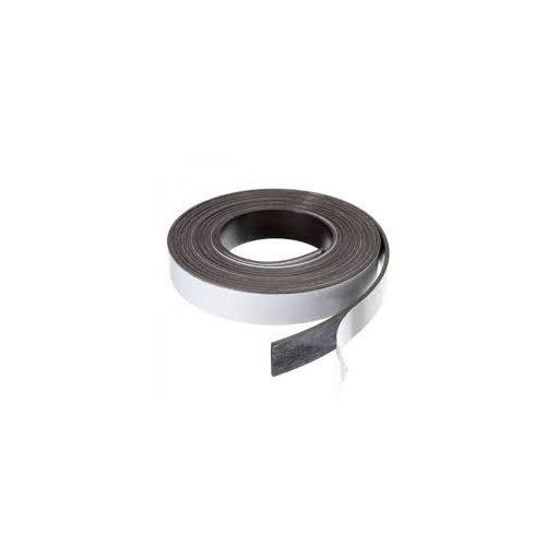 Bandă magnetică adezivă, grosime 0.50 mm, lățime 25 mm, lungime 30 metri