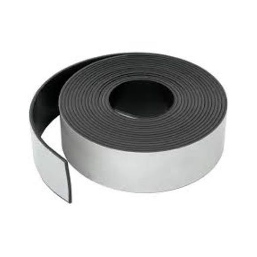 Bandă magnetică adezivă grosime 0.50 mm lățime 50 mm lungime 30 metri