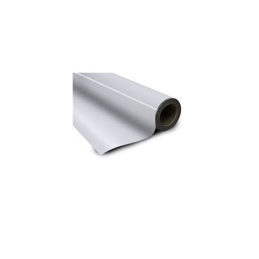 Folie magnetică cu PVC alb grosime 0.60 mm lățme 615 mm