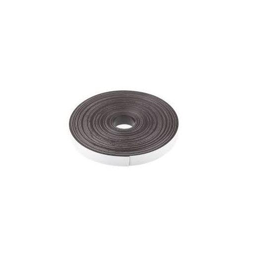 Bandă magnetică adezivă, grosime 0.70 mm, lățime 20 mm, lungime 30 metri