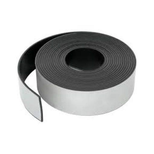 Bandă magnetică adezivă grosime 0.70 mm lățime 50 mm lungime 30 metri