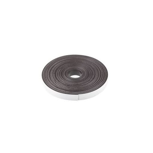 Bandă magnetică adezivă, grosime 0.90 mm, lățime 20 mm, lungime 30 metri