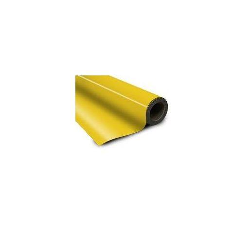 Folie magnetică cu PVC galbenă grosime 0.95 mm lățme 615 mm