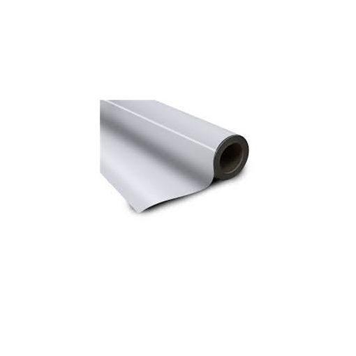 Folie magnetică cu PVC alb grosime 0.95 mm lățme 615 mm