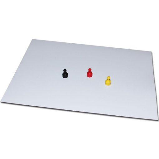 Folie oțel grosime 0.5 mm format A5 alb