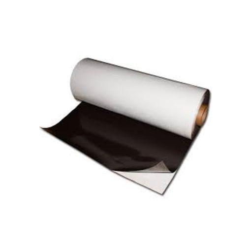 Folie magnetică adezivă, grosime 0.30 mm, lățime 615 mm, lungime 30 metri