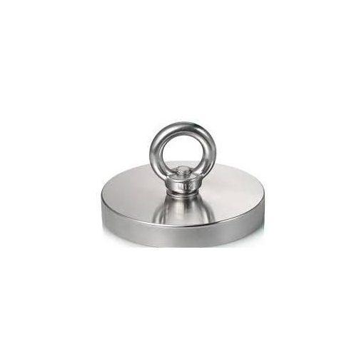 Magnet Neodim tip oală Ø75 mm forță 300 kg