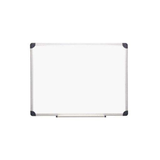 Tablă magnetică albă 60x90 cm cu burete si 4 magneti