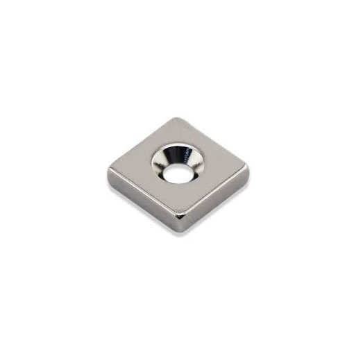 Magnet Neodim bloc  20x20x5 mm N48