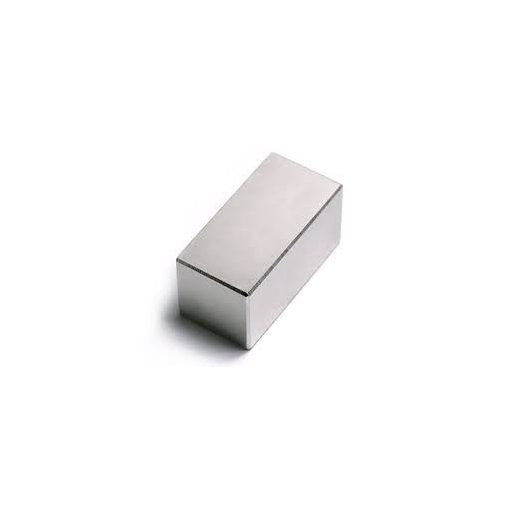 Magnet Neodim bloc  40x20x20 mm N52 magnetizare radială