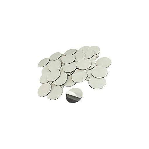 Cercuri magnetice diametru 4 cm grosime 0.7 mm set 100 bucăți