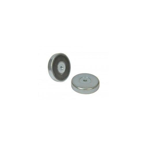 Magnet Ferită D63 mm gaură  filetată